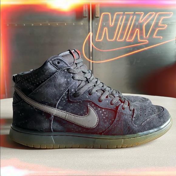 Sicilia Imperio Inca feo  Nike Shoes | Nike Sb Dunk High Pro Flash Pack Black Ice | Poshmark